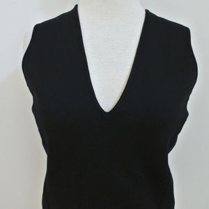 GIANNI VERSACE COUTURE sleeveless sweater sz 44